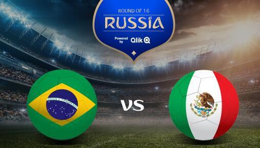 2018世界杯巴西vs墨西哥比分预测