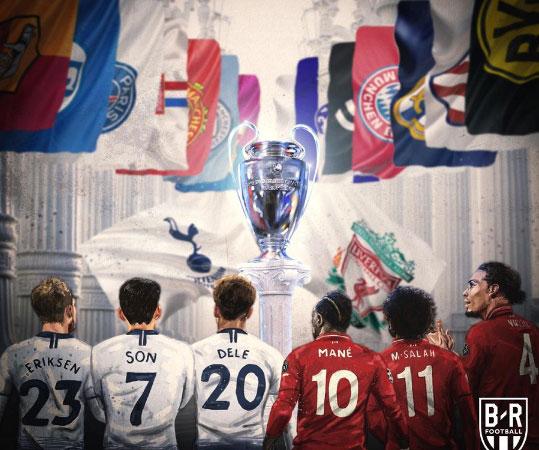 2019欧冠决赛前瞻:英超双雄会,红军热刺一决雌雄
