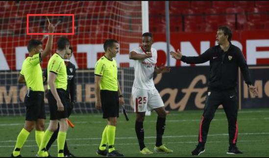 塞维利亚主帅累计5张黄牌 将缺阵对阵皇马竞赛